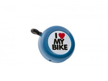 "Sonnette ""I love my bike"" - Bleue"